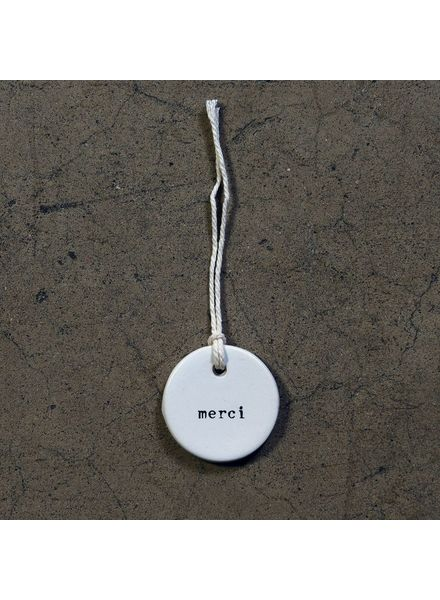 Merci | Ceramic Tag