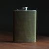 Flask 8oz | Olive Flask Stash - Stash Co