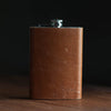 Flask 8oz | Caramel Flask Stash - Stash Co