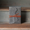 Artisan Journal with Wrap | 1900 Gray Journal Stash - Stash Co