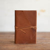 Artisan Journal with Wrap | Caramel Journal Stash - Stash Co