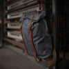 Kayak Roll Backpack | 1900 Gray - Stash Co