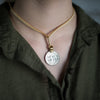 Mantra Coin | Houston Coordinates Necklace Stash - Stash Co