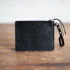 Modernist Wallet + Convertible Strap | Black Bison - Stash Co
