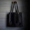 Minimalist Tote | Midnight Hair Hide Tote Stash - Stash Co