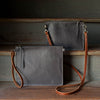 Modernist Wallet LG + Convertible Strap | 1900 Gray - Stash Co