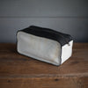 Dopp Kit | Grey Ombre + Black Bison