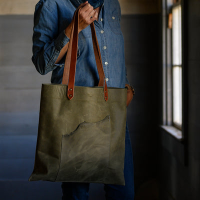 Artisan Tote | Olive