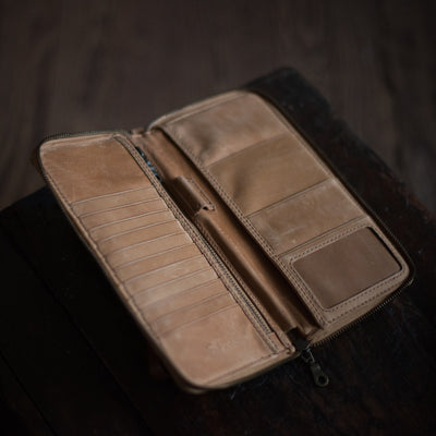 Passport | Caramel Passport Case Stash - Stash Co