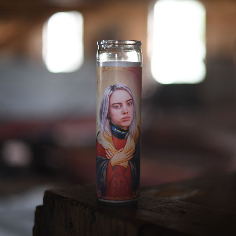 Billie Eillish Candle
