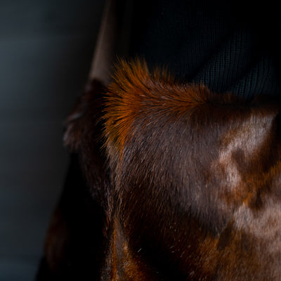 Messenger | Sandalwood Springbok Hair Hide