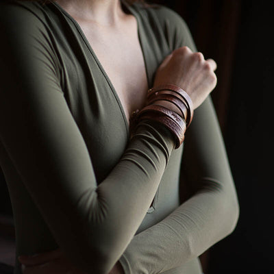 Double Wrist Wrap Bracelet Stash - Stash Co