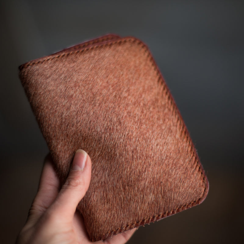 Passport Wallet | Sangria Hair Hide