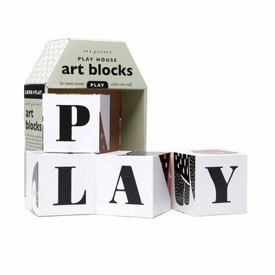 Play House Art Blocks - PLAY