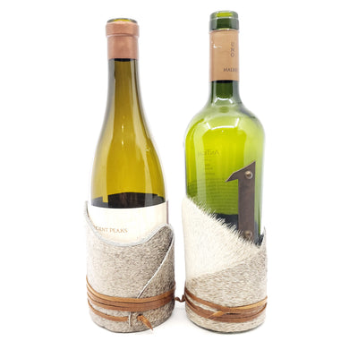 Wine Wrap | Assorted Hair Hide