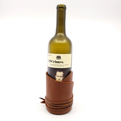 Wine Wrap | Assorted Leather