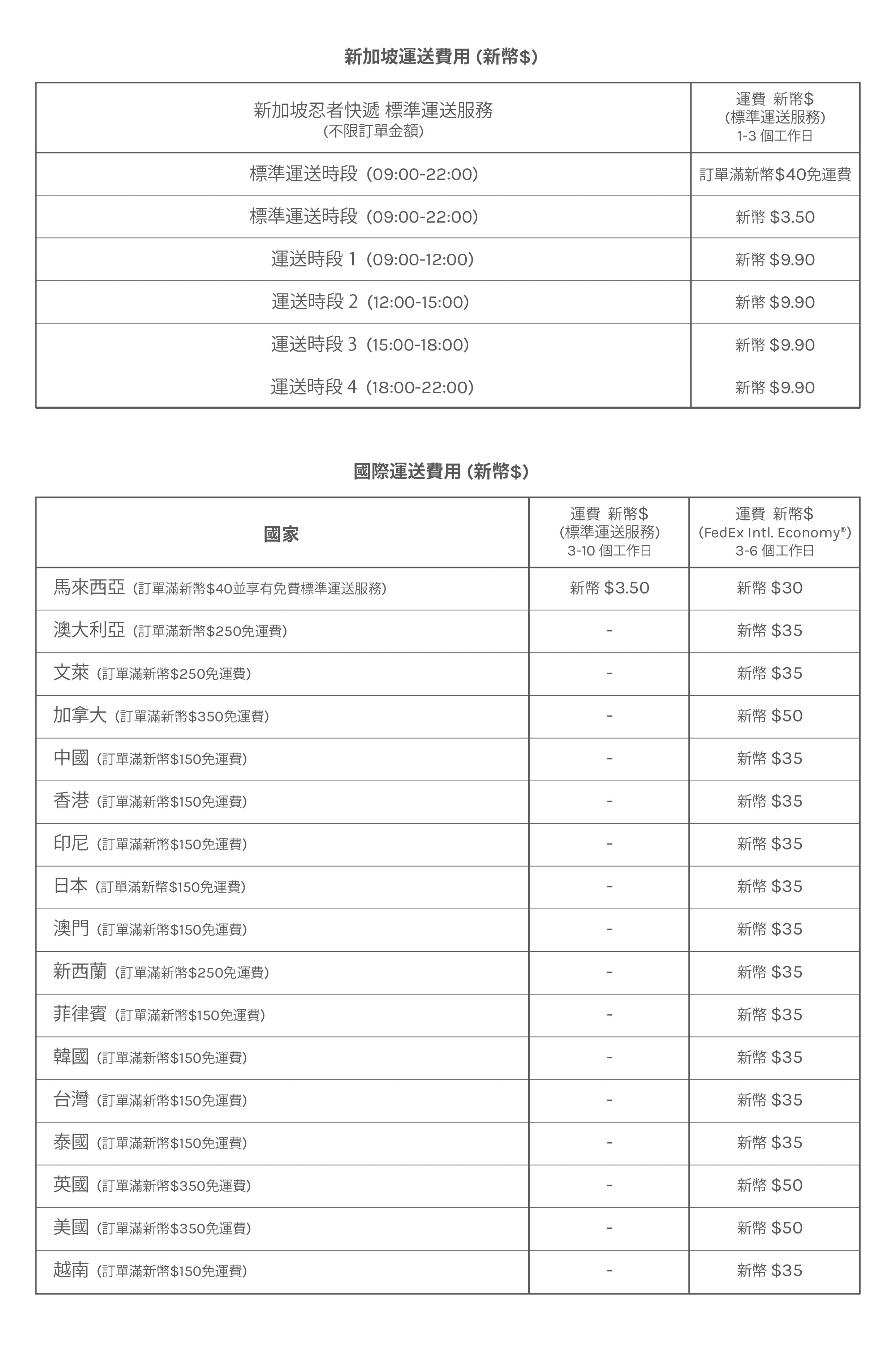 Shipping Rates in Chinese Text | 925 Silver Jewellery | A KIND OOOF
