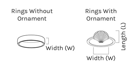 A KIND OOOF | Ring Dimensions