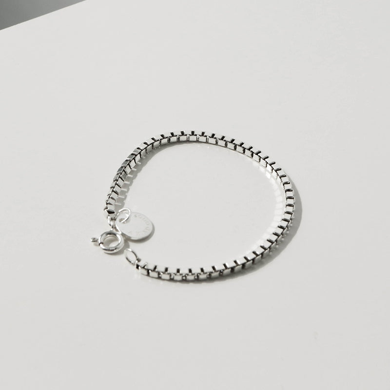 925 Box Chain Bracelet | A KIND OOOF