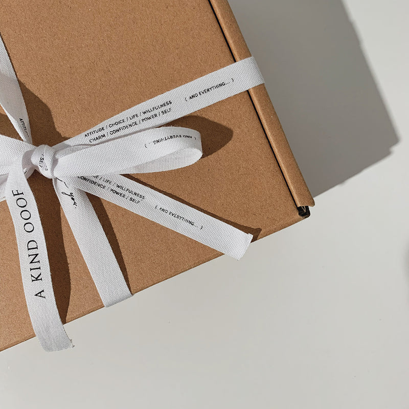 Ribbon Wrapped Gift Box <br><font>(Add-On)</font>