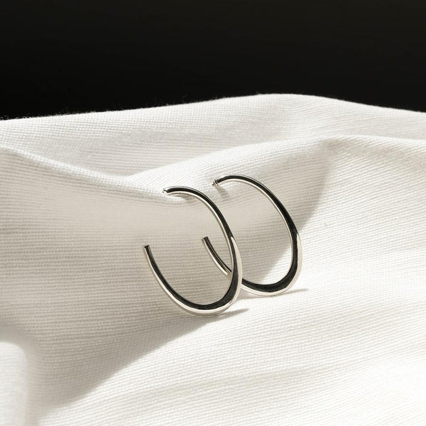 Open Curve Earrings