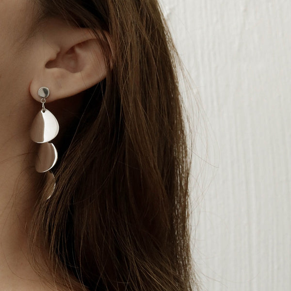 Asymmetrical Minimalist Earrings