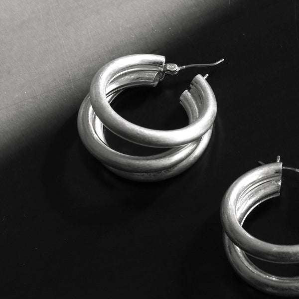 Trio Hoops Earrings