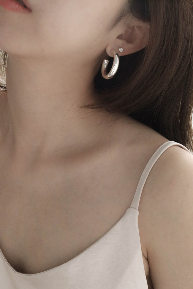 925 Minimalist Trend Earrings