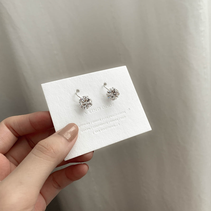 925 |Handcrafted| Brilliant Sphere Earrings