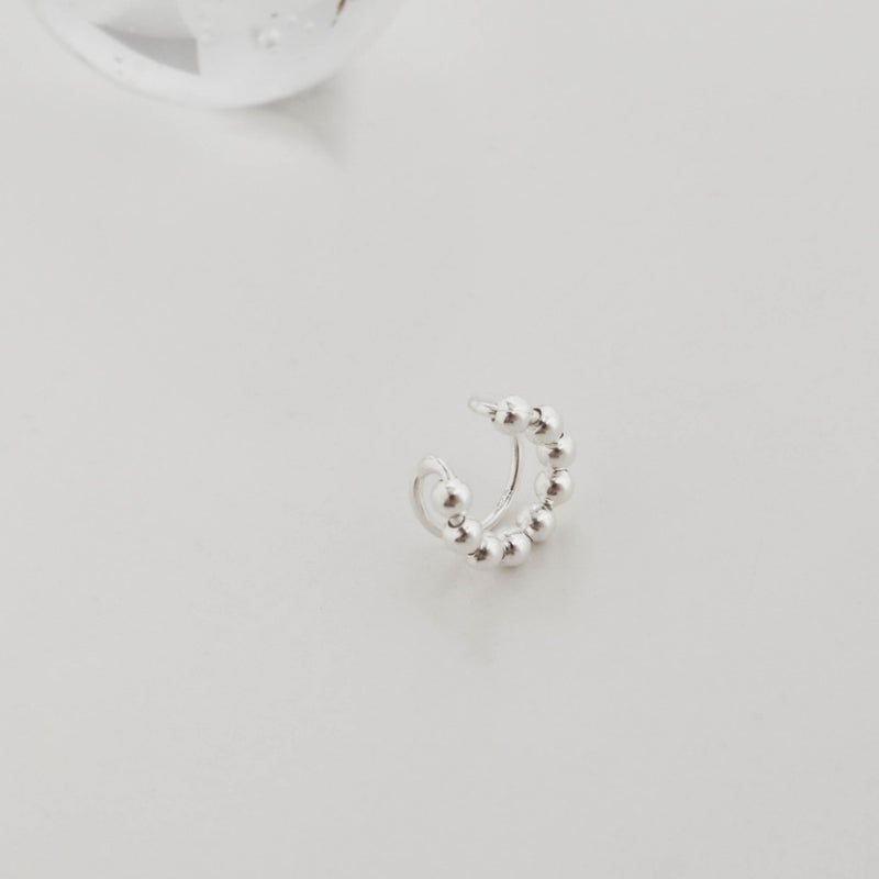 925 |Handcrafted| Duo Layer Ear Cuff