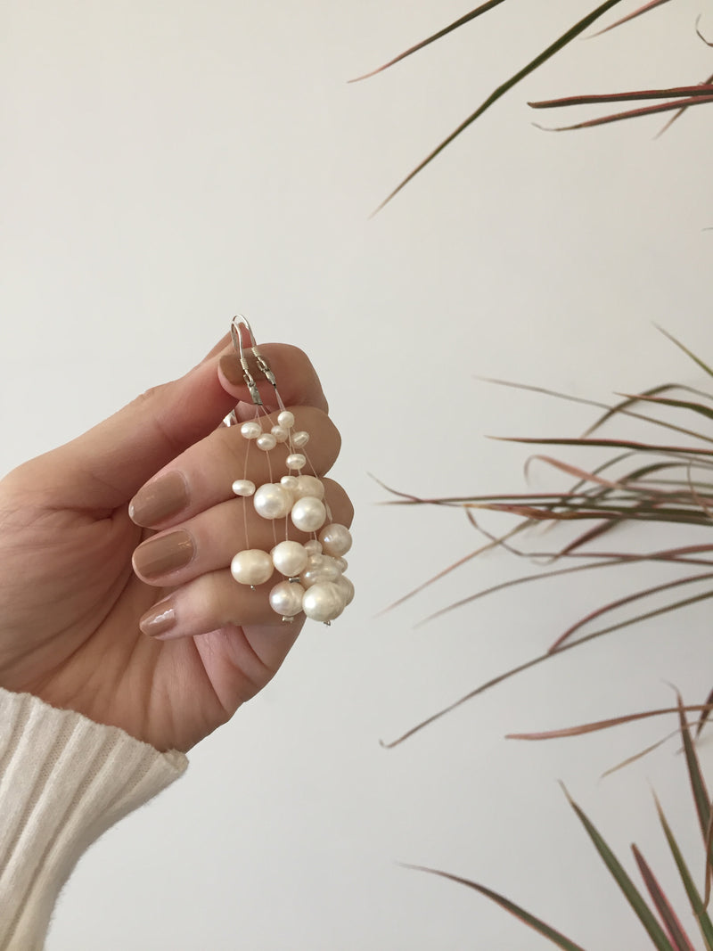 Starry Pearl Earrings