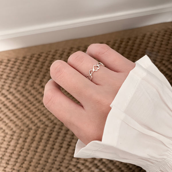 925 Lovely Ring <br><font>Size 10•12•14•16</font>