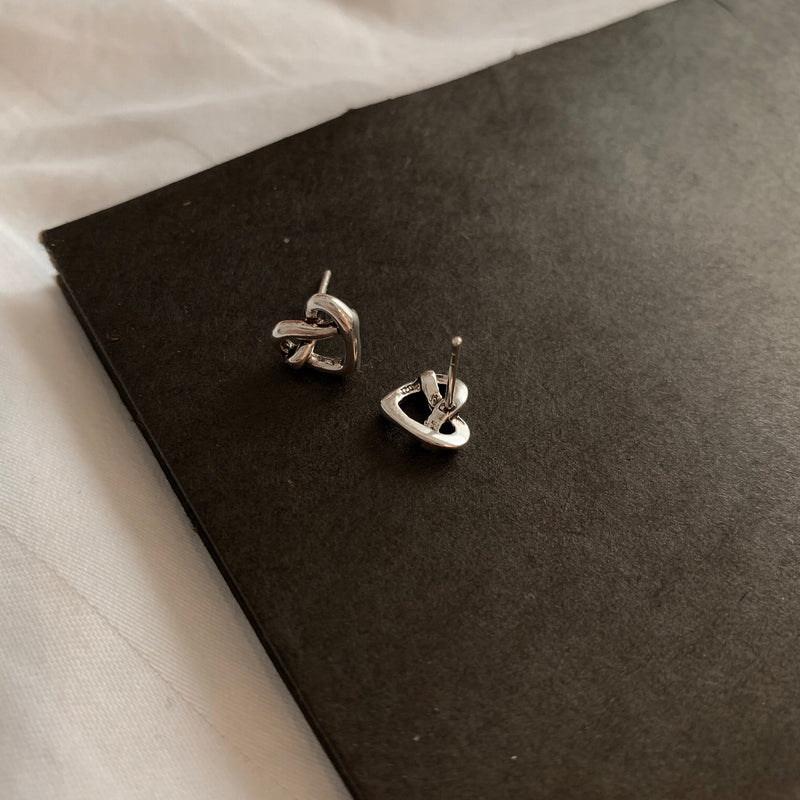 925 |Handcrafted| Love Knot Earrings