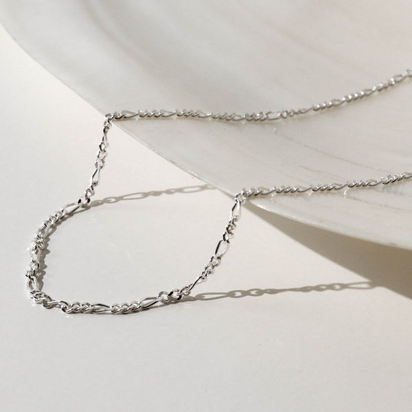 925 Figaro Chain Necklace