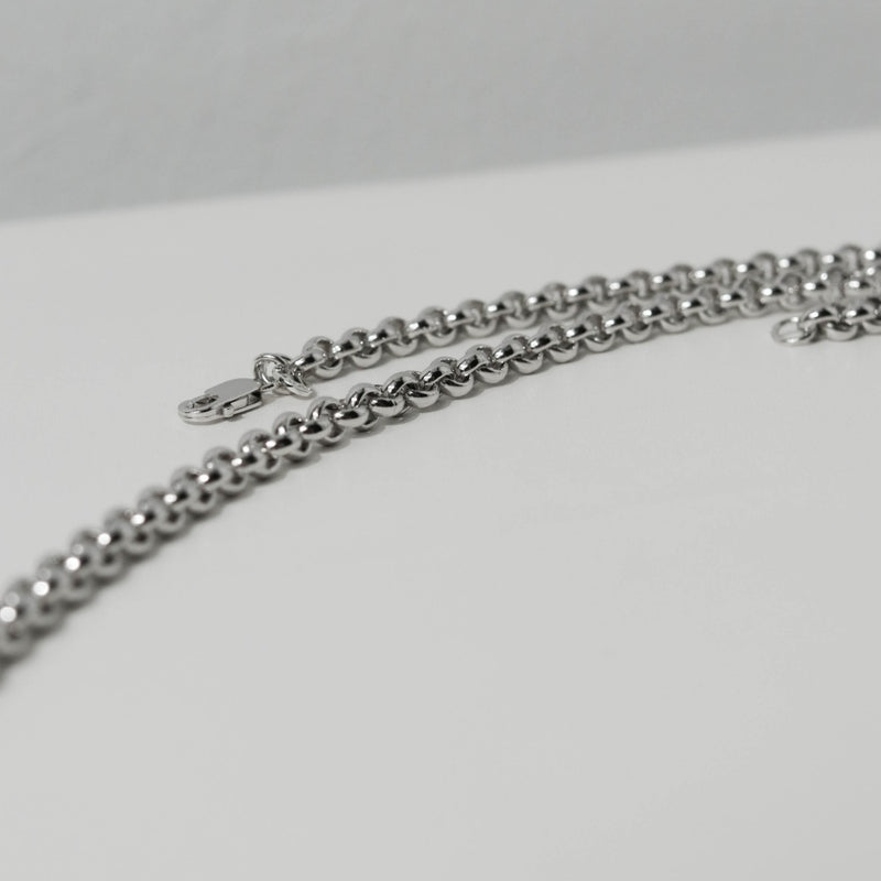 925 Rolo Chain Mens Necklace
