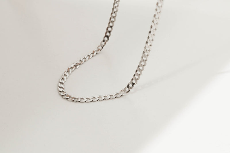 925 |Italy| Curb Chain Necklace