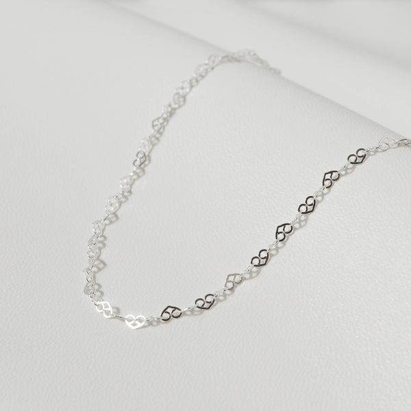 925 |Italy| Love Link Chain Necklace
