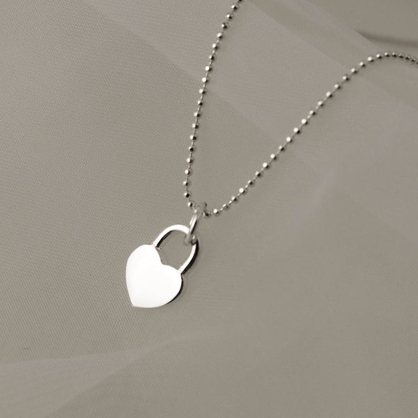 925 My Amour Heart Locket Pendant Necklace