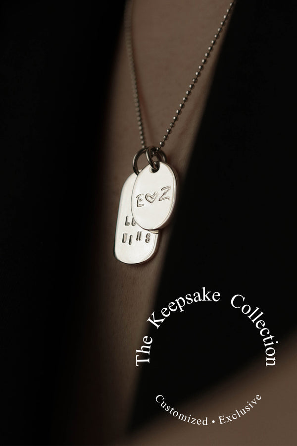 925 |Handcrafted| Keepsake Necklace