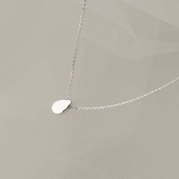 925 Morning Dew Teardrop Pendant Necklace