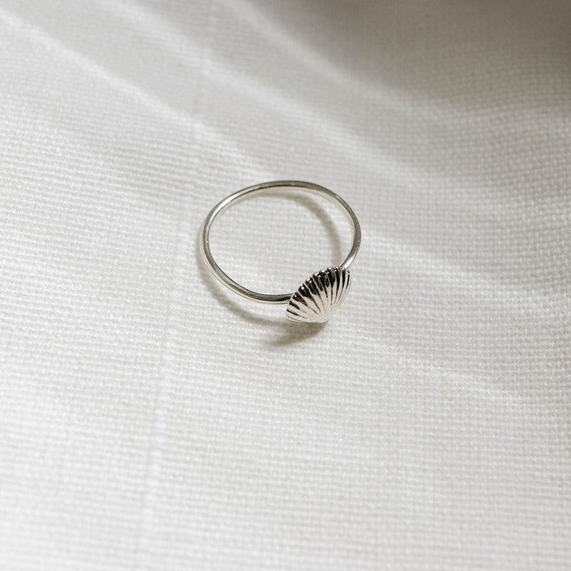 |Handcrafted| Seashell Ring