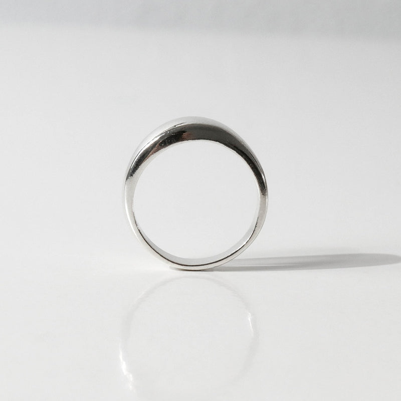 925 Irregular Tiny Chubby Ring <br><font>Size 10•12•14•16</font>