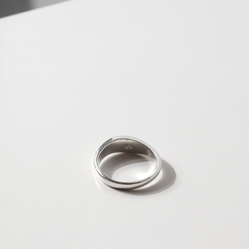 925 Irregular Tiny Chubby Ring <br><font>Size 12•14</font>