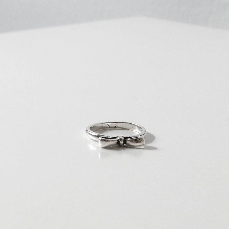 925 |Handcrafted| Bow Knot Ring <br><font>Size 9•12•14</font>