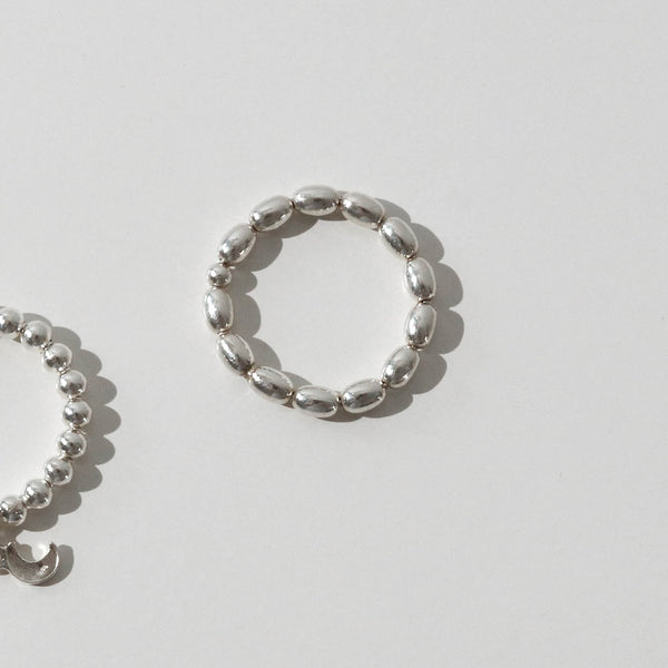 925 |Handcrafted| Water Droplets Ring <br><font>Size 12•14•16</font>