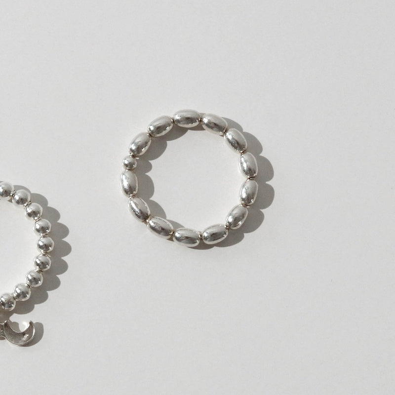 925 |Handcrafted| Water Droplets Ring <br><font>Size 12•13•14•15•16•17</font>