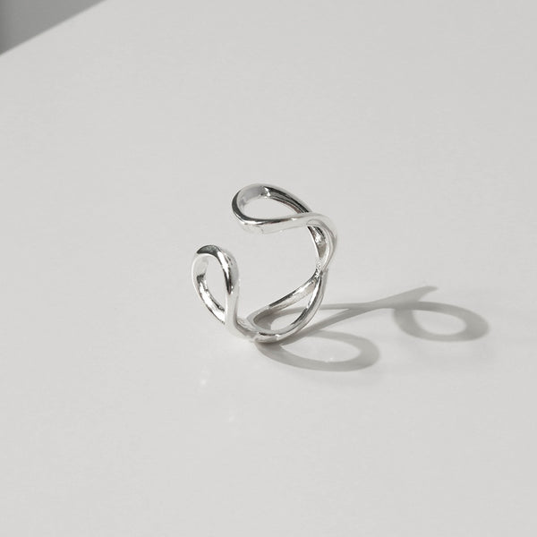 925 Silver Two Way Personality Ring | A KIND OOOF
