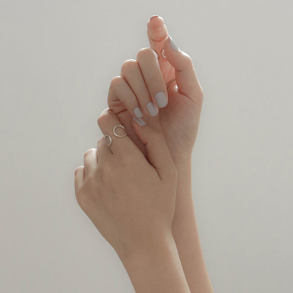 925 Duo Side Personality Ring <br><font>Size 12•14•16</font>