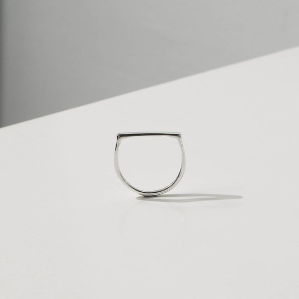 925 |Handcrafted| Flat Top Ring <br><font>Size 11•12•14•16</font>