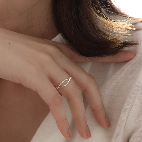 925 Handcrafted Twisting Vine Ring | A KIND OOOF